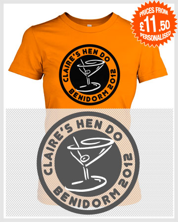 cocktail time hen t-shirts