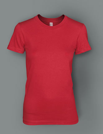 ladies fitted t-shirts